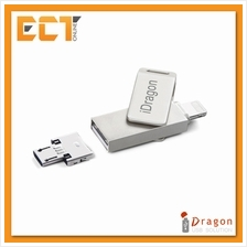 iDragon 32GB Lighting + USB 2.0  & Micro USB OTG Flash Drive/Thumb Drive