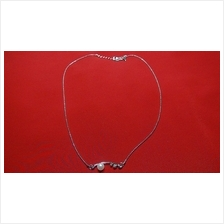 Fashion Silver Exotic Bar Shape With Pearl Necklace