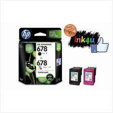 HP 678 Black + Color COMBO Ink (Genuine) 1510 1515 2515 2545 2645 3545