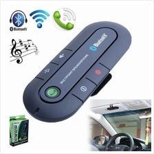 Sunvisor Bluetooth Car Kit With Media and Audio Connection