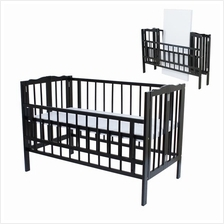 Royalcot R295 Baby cot Wenge Foldable Cot