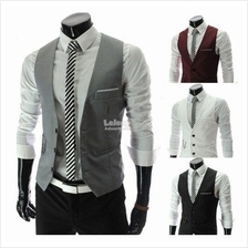 3-Button Men Slim Vest (Wedding/Events)