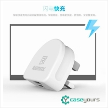 Remax 2 3 Port 2.1/3.1A USB Fast Charging Wall Adapter Charger
