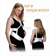 NEW Upgrade Pregnancy Flexible Belly&Back Support Belt +Free Gift