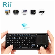 Original Rii Mini X1 2.4G Wireless Air Keyboard with Mouse Touchpad