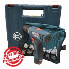 Bosch Battery Cordless Drill Driver GSR 120 LI FREE Accessories Packag