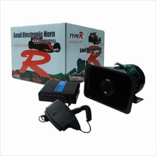 TYPE-R HIGH QUALITY LOUD ELECTRONIC HORN 5 Tone Police Talking Siren