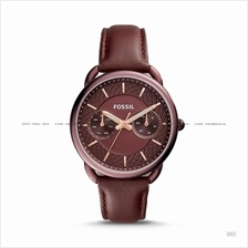 FOSSIL ES4121 Women's Tailor Multifunction Leather Strap Wine