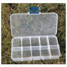 04532 10 grid storage box false eyelash / nail chip storage box