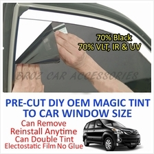 Toyota Avanza 2002 - Present Magic Tinted Solar Window (6 Windows) 70%
