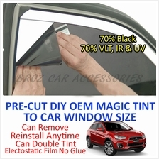 Mitsubishi ASX Magic Tinted Solar Window (4 Windows & Rear) 70% Black