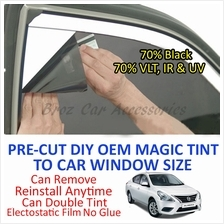 Nissan Almera Magic Tinted Solar Window ( 4 Windows & Rear ) 70% Black