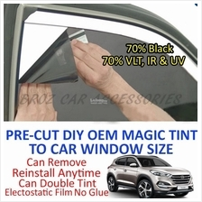 Hyundai Tucson Magic Tinted Solar Window (4 Windows & Rear) 70% Black