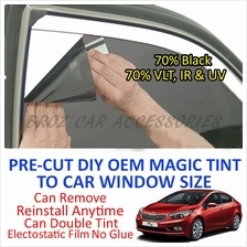 Kia K3 Magic Tinted Solar Window ( 4 Windows & Rear ) 70% Black