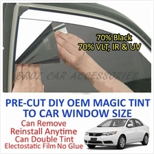 Kia Forte Magic Tinted Solar Window ( 4 Windows & Rear ) 70% Black