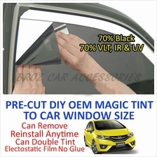Honda Jazz 2003-2007 Magic Tinted Solar Window (4 Windows & Rear) 70%
