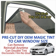 Honda Civic 2002-Present Magic Tinted Solar Window (4 Window & Rear)