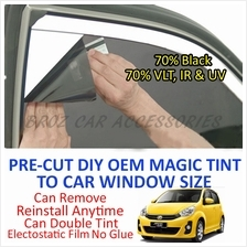 Perodua Myvi Lagi Best Magic Tinted Solar Window (4 Window & Rear) 70%