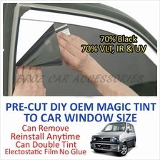 Perodua Kenari Magic Tinted Solar Window (4 Windows & Rear) 70% Black