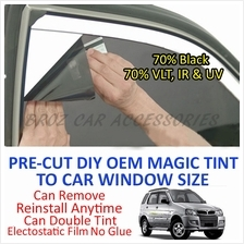 Perodua Kembara Magic Tinted Solar Window (4 Windows & Rear) 70% Black