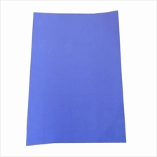 Fluorescent Blue Sticker Color Paper Label A4 100's *Free Shipping