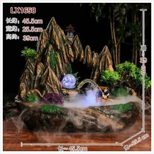WATER FOUNTAIN - MOUNTAIN LX 1658 FENG SHUI WATER FEATURE HOME DECO