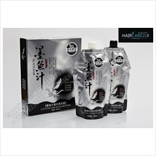 500ml Korean Herbal Cuttlefish Juice Water Black Hair Dye Cream