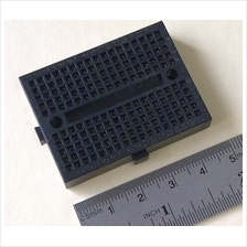 Mini Self-Adhesive Solderless Breadboard 170 Tie Point (Black)