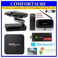 MXQ PRO 4K MK809 III IV Wintel W8 2G / 32GB Android Smart TV Box CS918