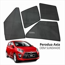 Custom Fit OEM Sunshades/ Sun shades for Perodua Axia (4PCS)