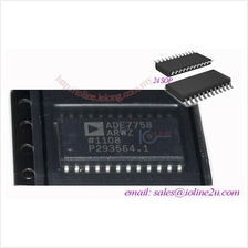 ANALOG DEVICES - ADE7758ARWZ - IC, ENERGY METERING, 3PHASE, 24SOIC