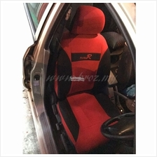 Type R Car Seat Cover Universal Styling Car - Red PROTON PERODUA
