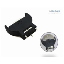 CR2032 Vertical Type Battery Holder Through Hole Mount