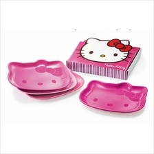 Tupperware Hello Kitty  Plates Set