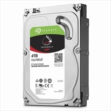 "SEAGATE 3.5"" IRONWOLF 4TB SATA 6GB/S 5900RPM (ST4000VN008)"