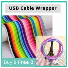Cable Wrapper USB Protector iPhone 5s 6 6s 7 Plus Macbook