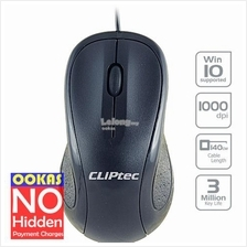 CLiPtec SCROLL MAX 1000dpi Optical Mouse RZS950