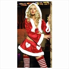 03765 European style latest fashion Hooded Christmas suit