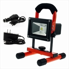10W Water Resistant Portable Ultra Bright Cordless Rechargeable Led Flood Spot