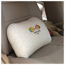 Music Boxman Car Seat Waist Support / Pillow 100% Cotton