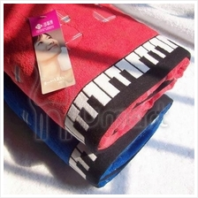 Music Piano Keyboard 100% Cotton Bath Towel