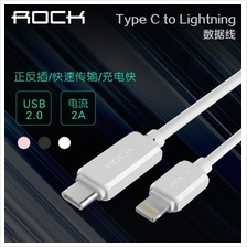 P9 PLUS Type C Original ROCK USB Data Sync Charging USB Cable 1m 2A