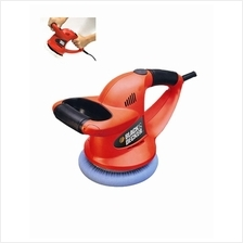 Black and Decker 6-inch (152mm) Car Polisher/Waxer Red  KP600