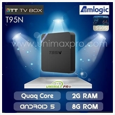 T95N TV BOX S905 Quad Core 1GB/2GB Ram 8GB Rom Android 5