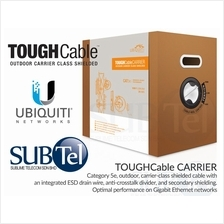 TC-CARRIER SFTP Ubiquiti Outdoor Double Shielded Cat5e TOUGH Cable 1Gb