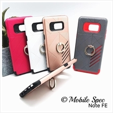 Samsung Note 3 4 5 J1 J3 J5 J7 2016 Shockproof Case Ring Holder Stand