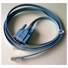 RJ45 Male / RS232 Female Serial Console Configuration Cable