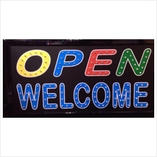 LED SignBoard-Open Welcome