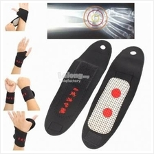 Tourmaline Self Heating Magnetic Wrist Support Wristband Pain Relief