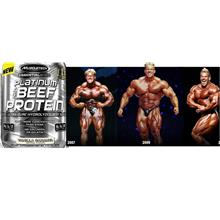 Muscletech Platinum Beef Protein Isolate 48 Serv whey 0 Sugar Gula Fat